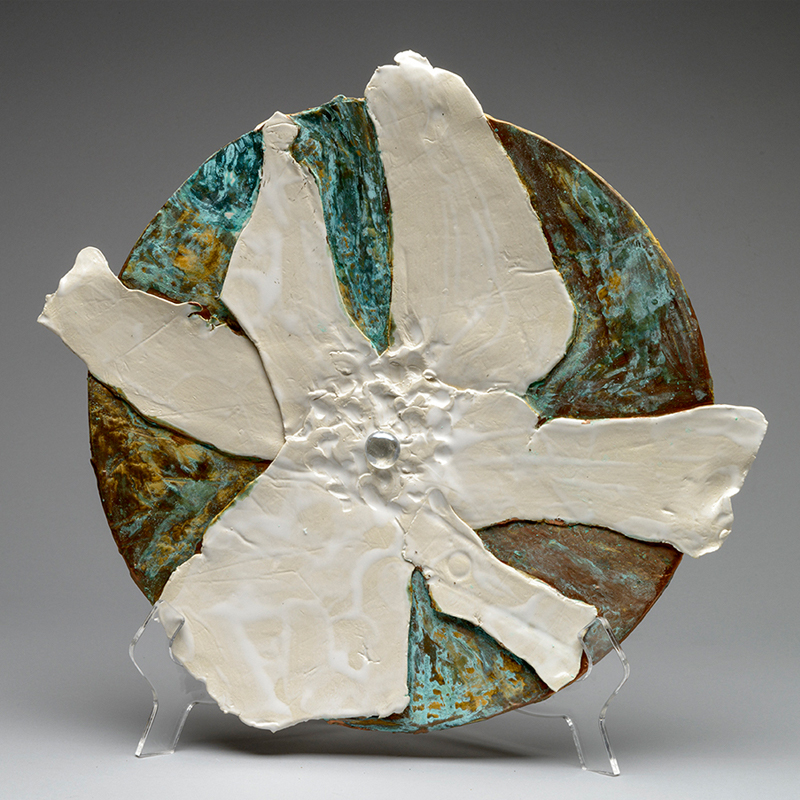 Image: Lois Sattler - Round Ceramic Piece